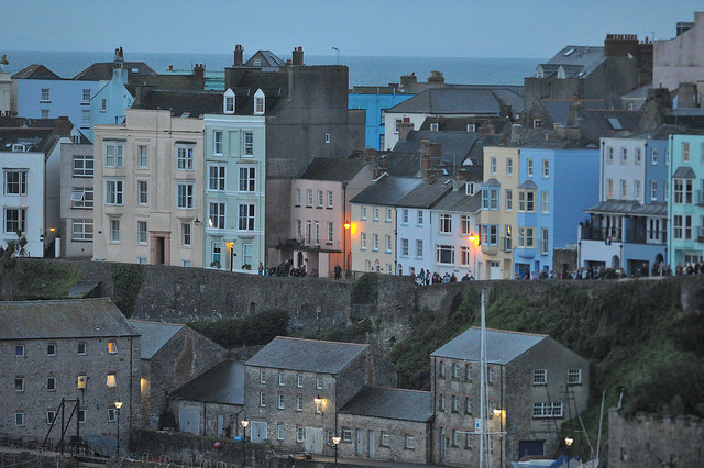 Tenby, dawn light, (All rights reserved, Finisherpix)